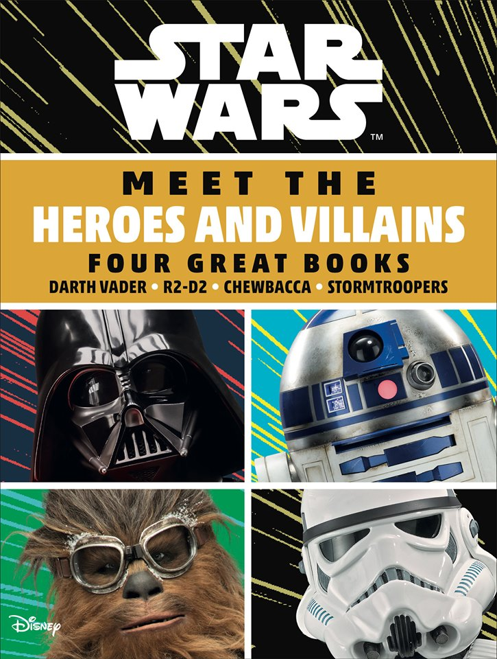 Star Wars Meet the Heroes and Villains