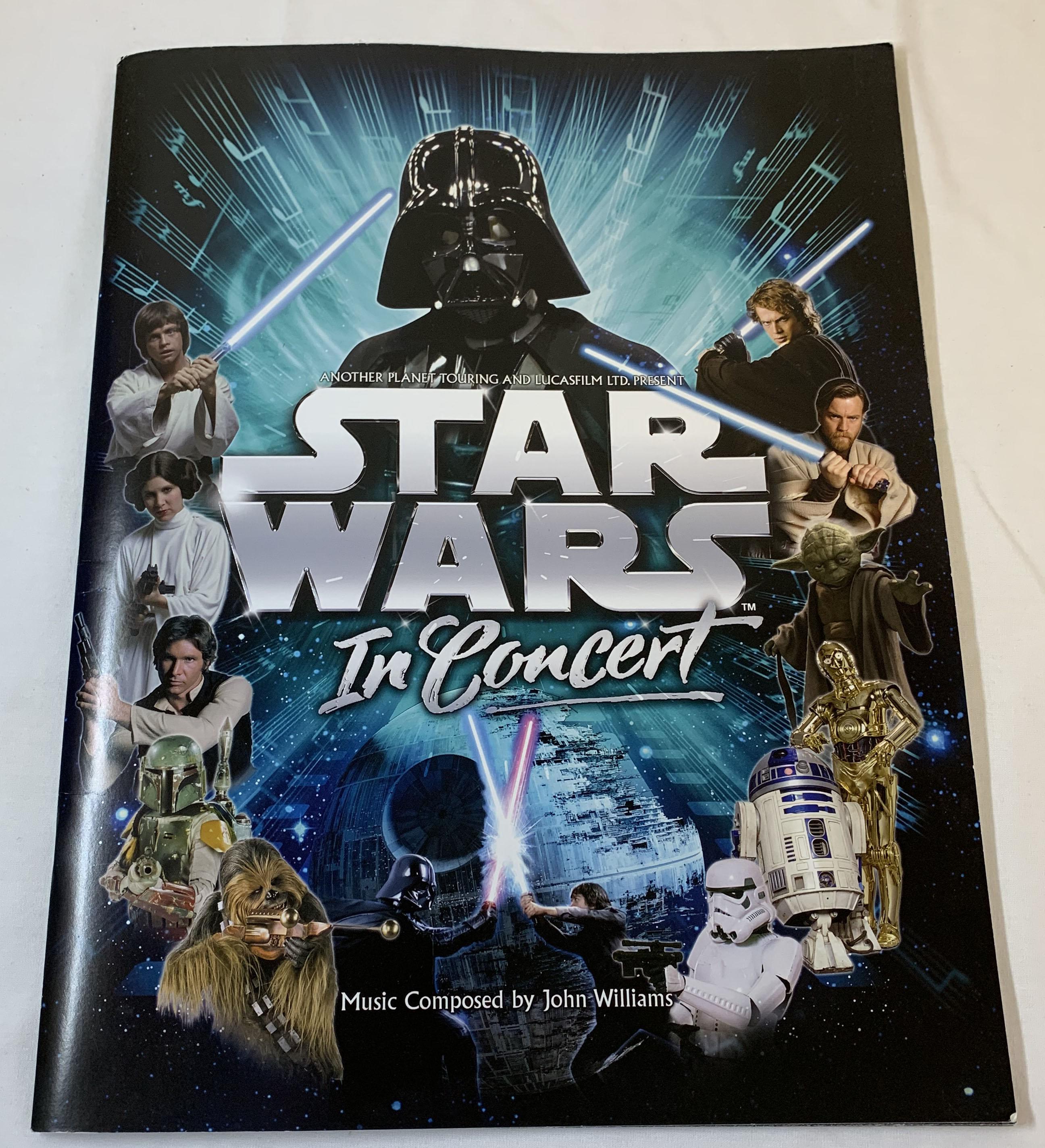 Star Wars In Concert (Souvenir Program)