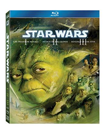 Star Wars Prequel Trilogy Blu-Ray
