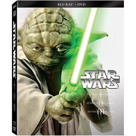 Star Wars Prequel Trilogy Blu Ray DVD