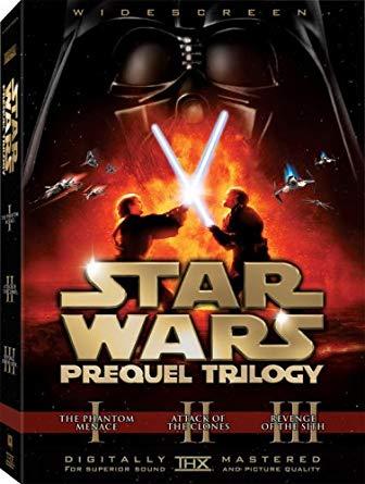 Star Wars Prequel Trilogy DVD
