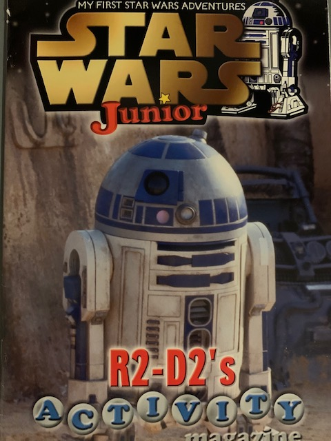 Star Wars Junior: R2-D2's Activity Magazine