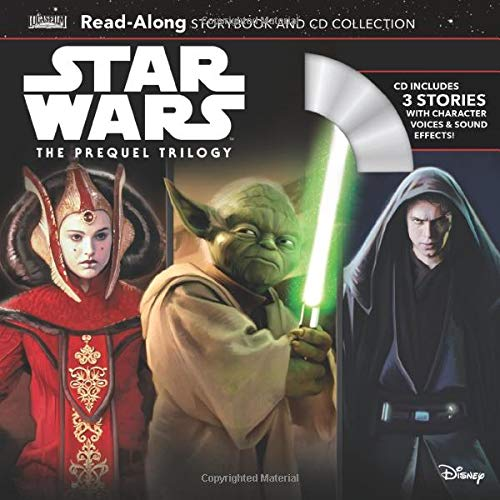 Star Wars The Prequel Trilogy Read-Along Storybook & CD Box Set