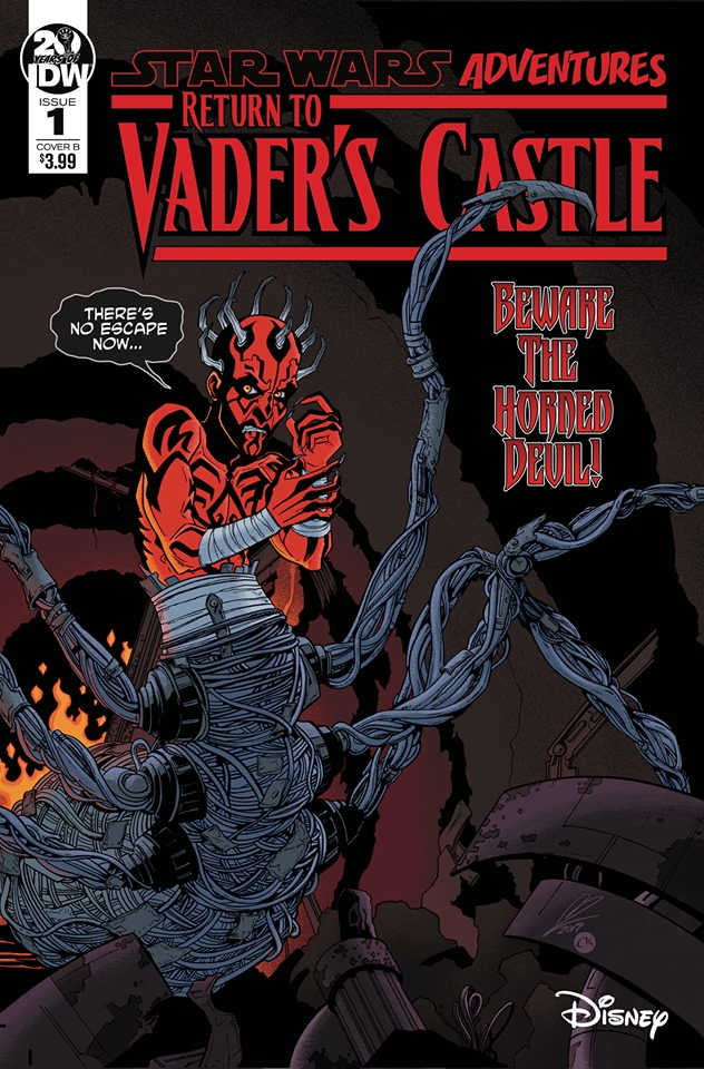 Star Wars: Return to Vader's Castle 1 Cover B Megen Levens
