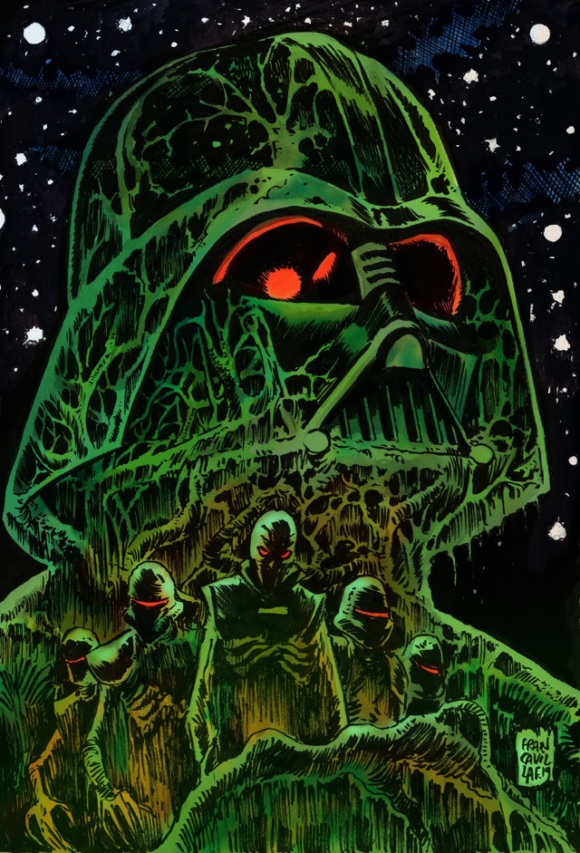 Star Wars: Return to Vader's Castle: Night of the Lava Zombies