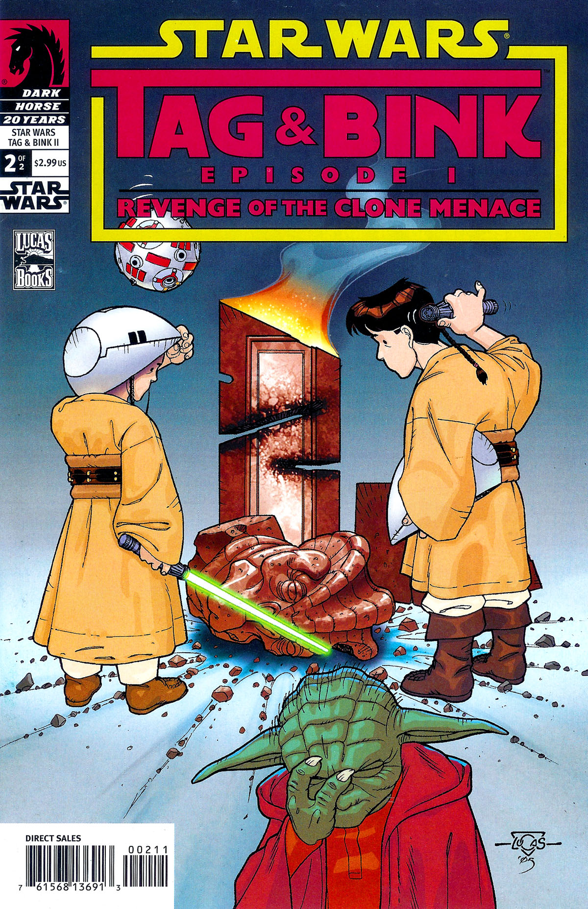 Star Wars Tag and Bink Episode I: Revenge of the Clone Menace