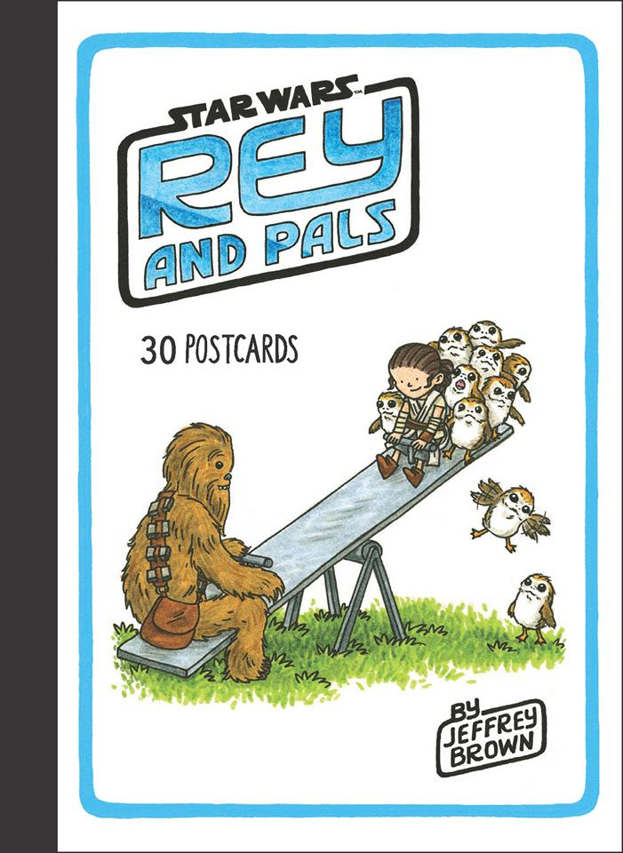 Star Wars: Rey and Pals 30 Postcards