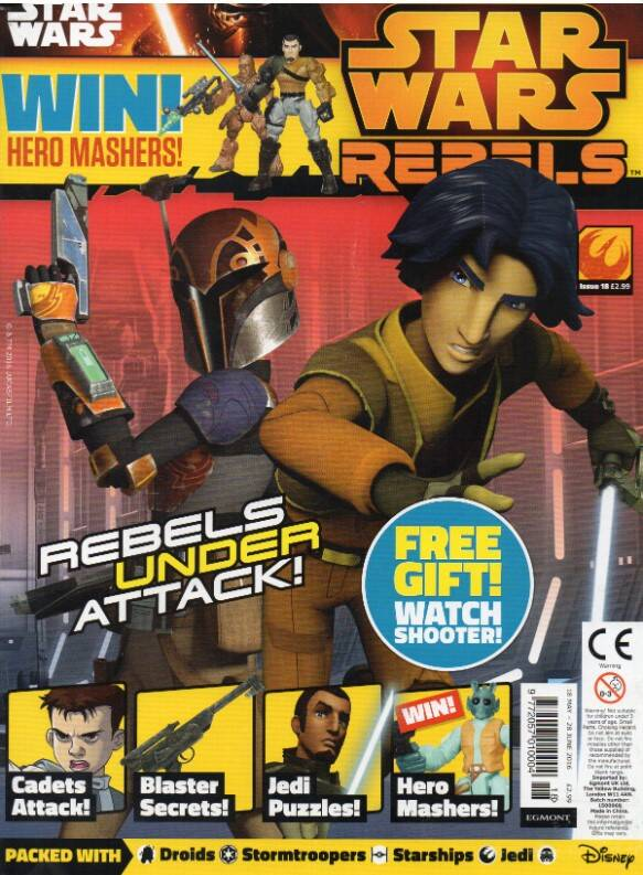 Star Wars Rebels Magazine 18 (UK)