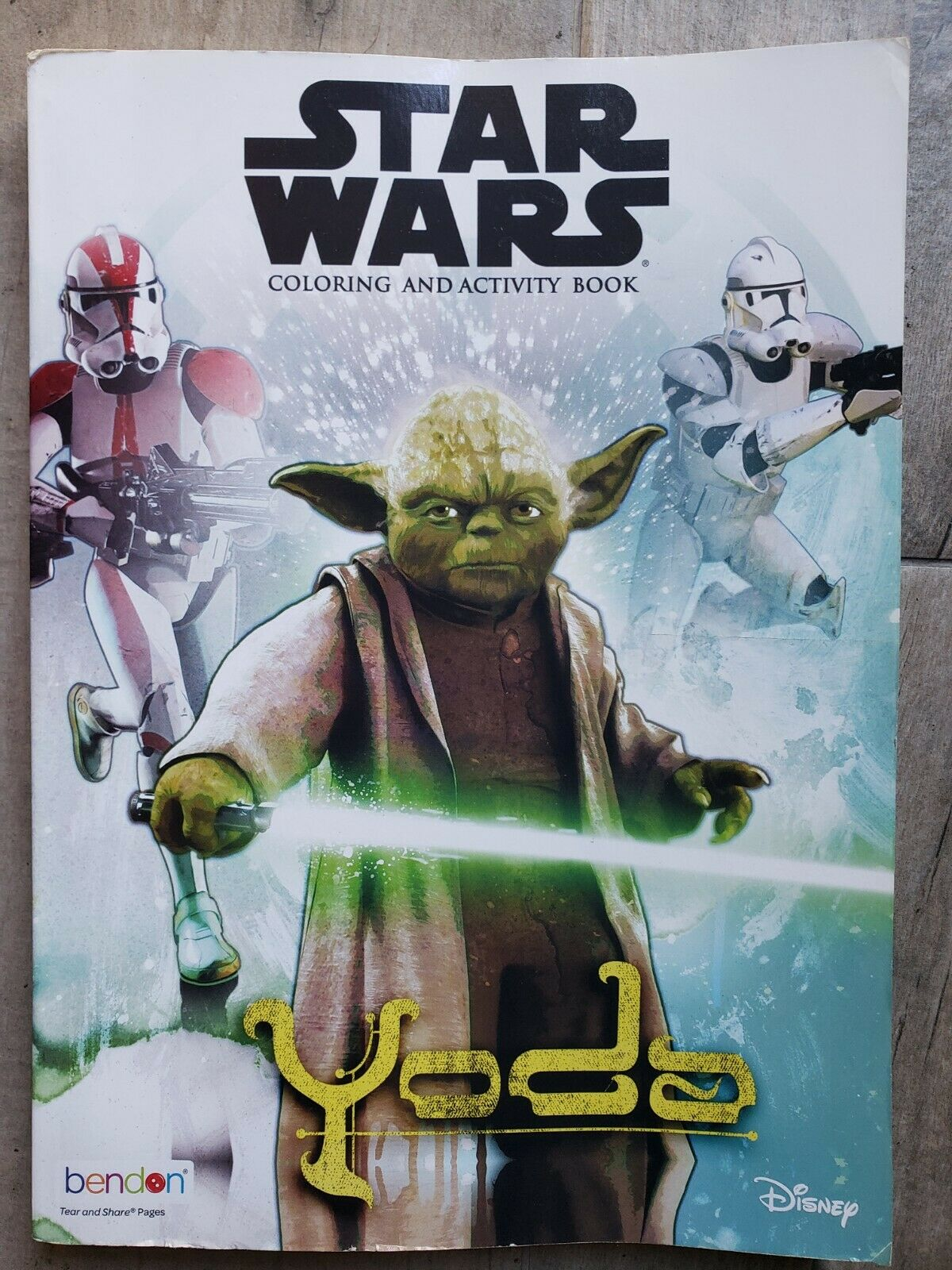 Star Wars: Coloring and Activity Book - Yoda