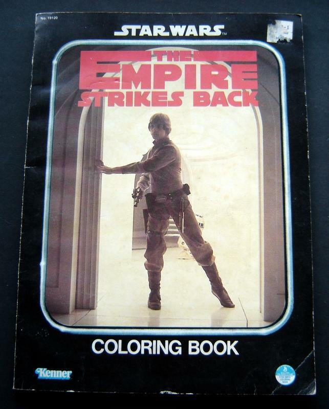 Star Wars: The Empire Strikes Back Coloring Book (Luke Skywalker)