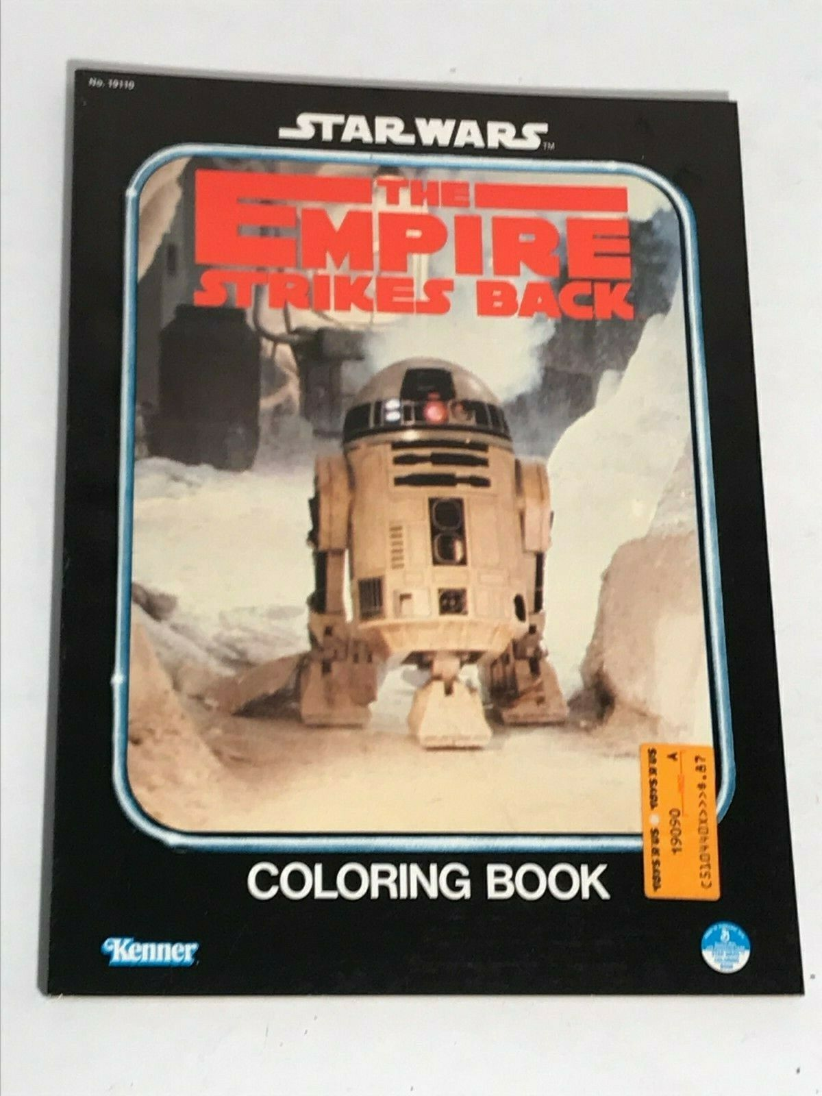 Star Wars: The Empire Strikes Back Coloring Book (R2D2)
