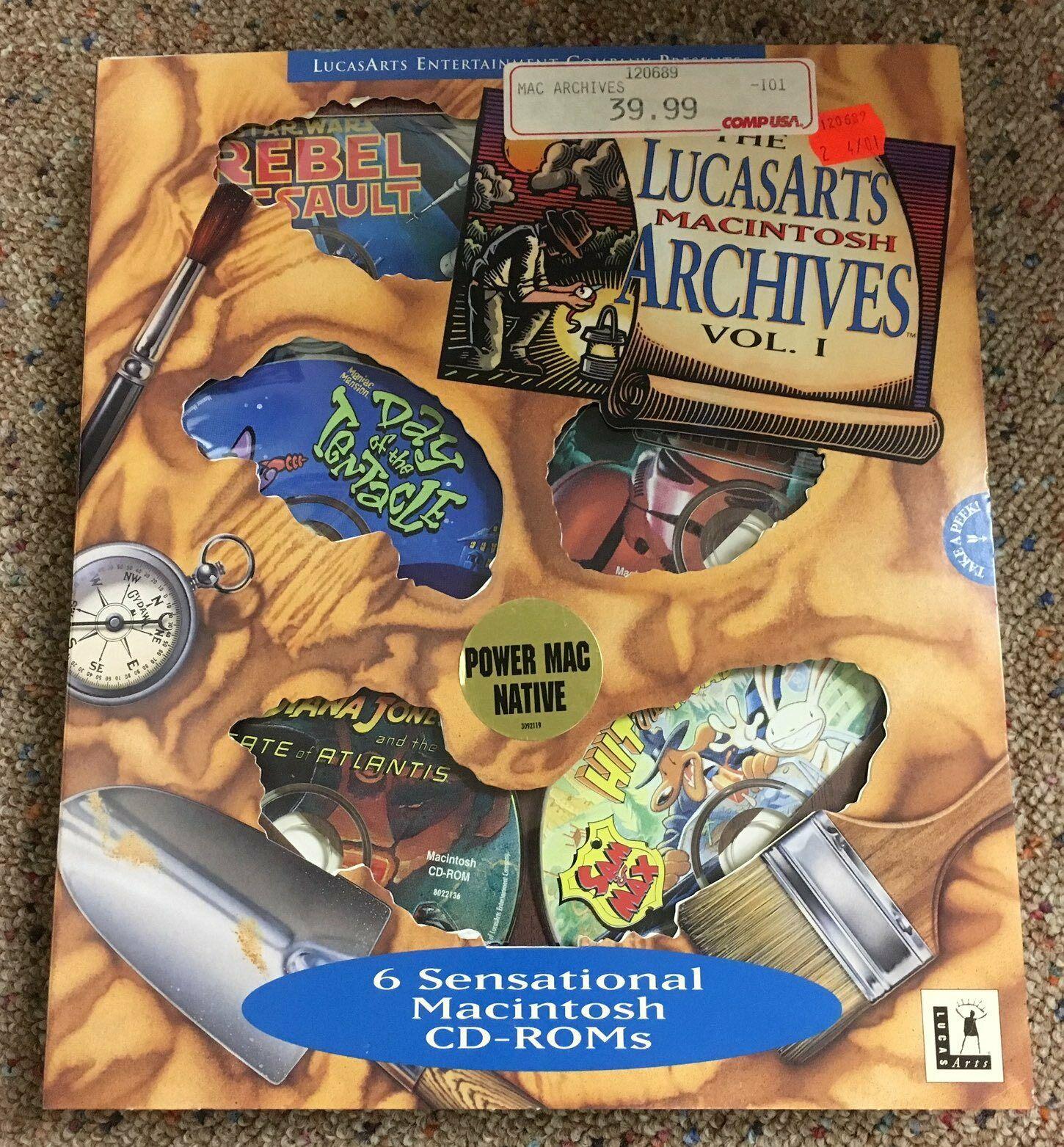 The LucasArts Macintosh Archives Vol I.