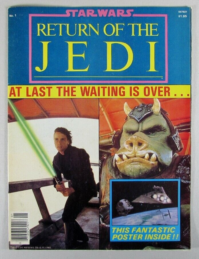 Return of the Jedi Official Poster Monthly 1