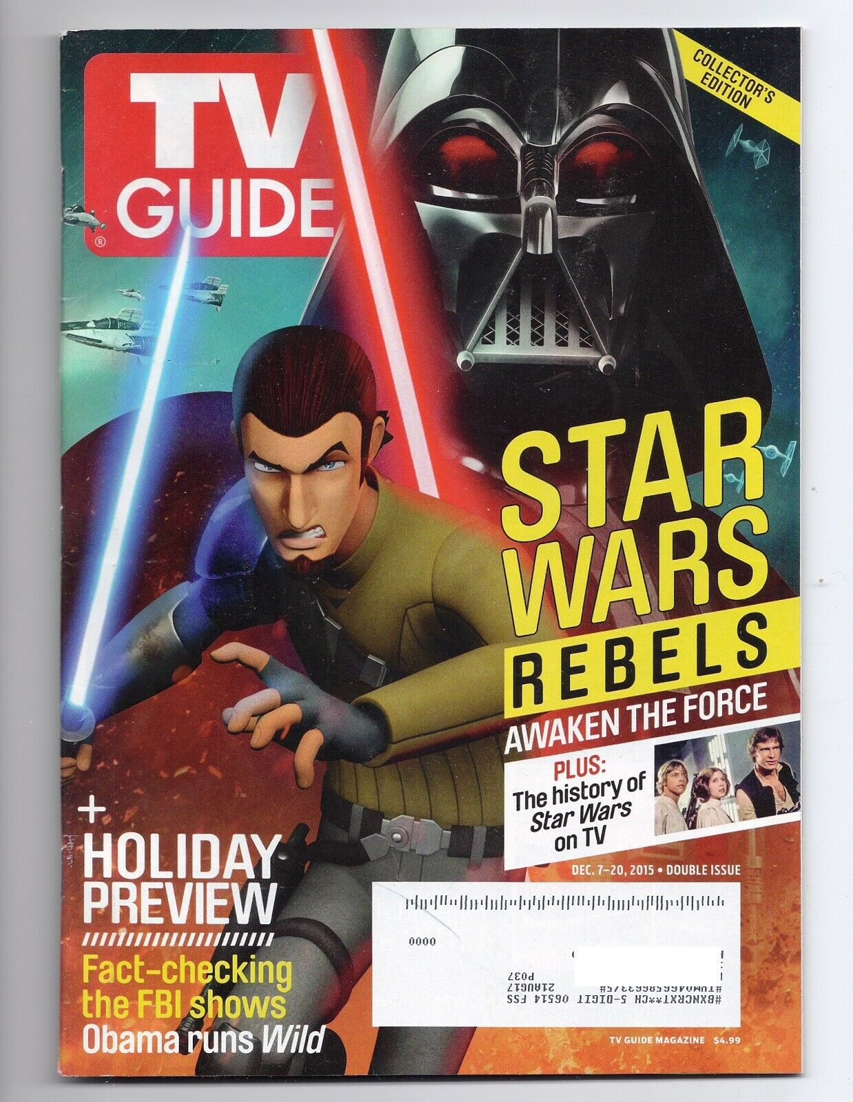 TV Guide December 7-20 2015 (Kanan/Vader)