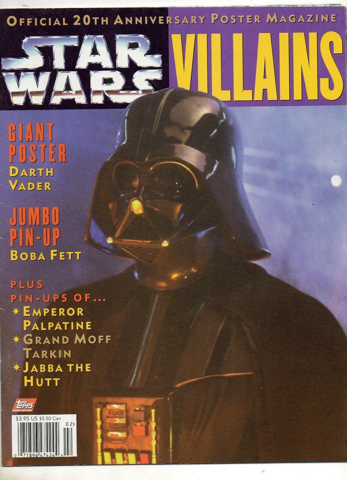 Star Wars Villains (Official Poster Magazine 1997)