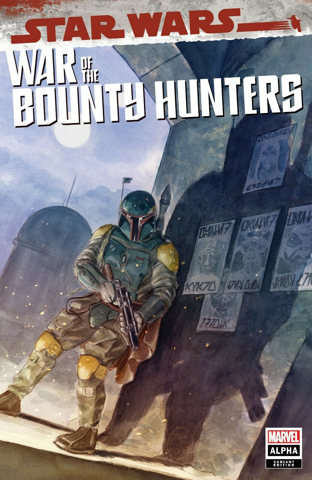 Star Wars: War of the Bounty Hunters Alpha - Mega Gaming Variant