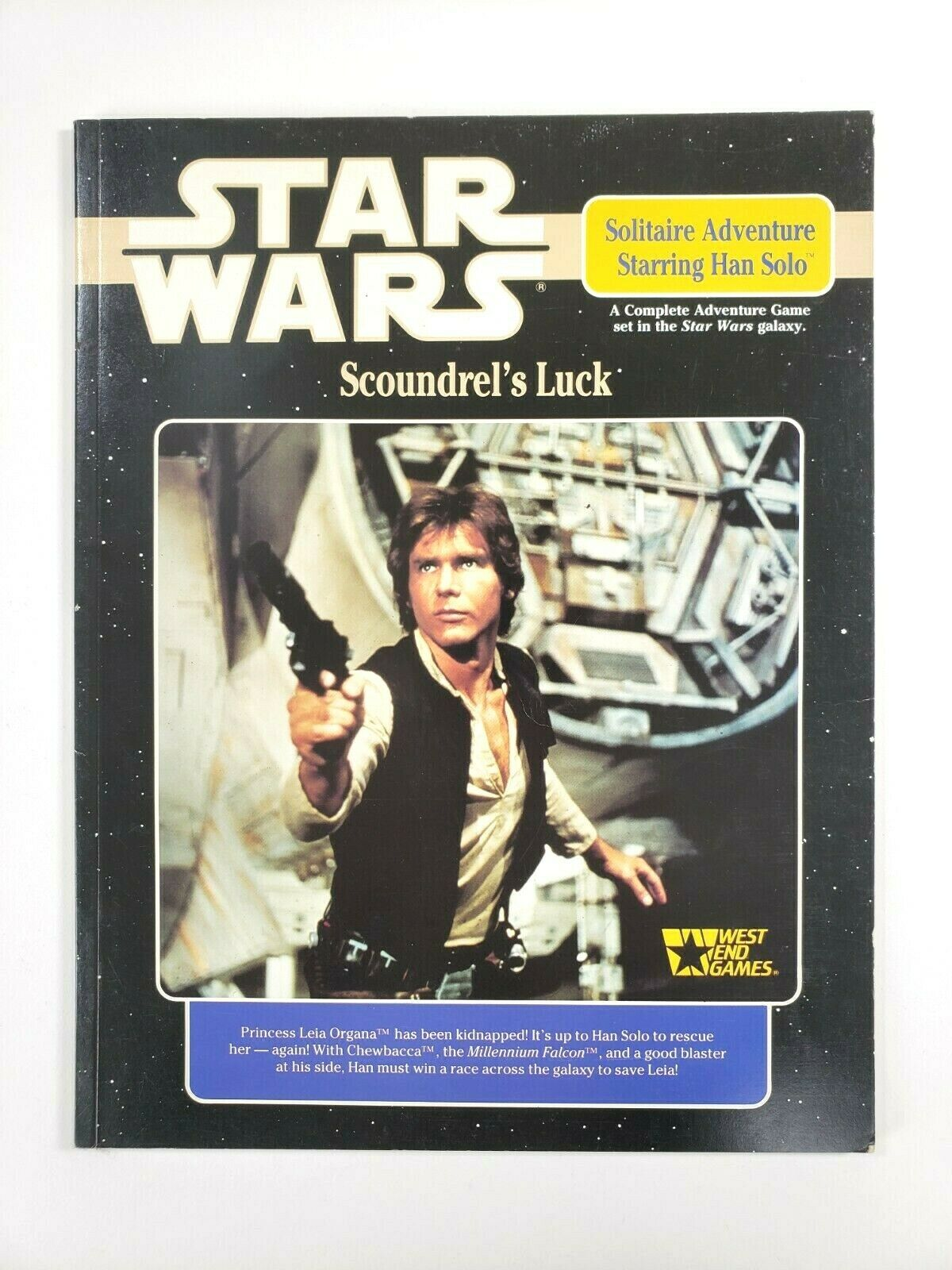 Scoundrel's Luck: Star Wars Solitary Adventure Game