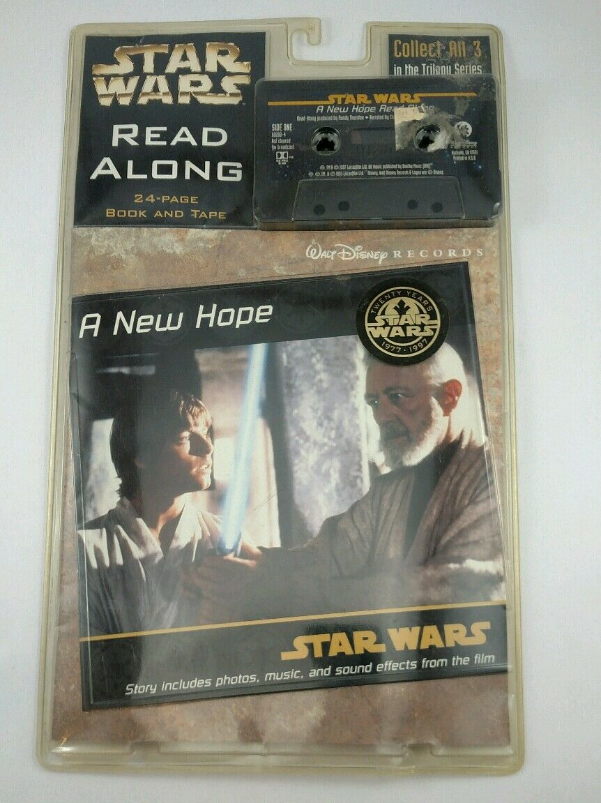Star Wars Read Along: A New Hope