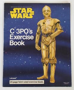 Star Wars C-3PO's Exercise Book