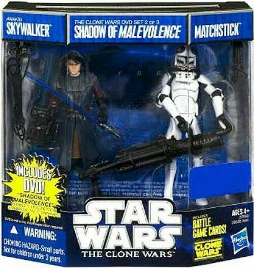 Star Wars The Clone Wars: Shadow of Malevolence DVD