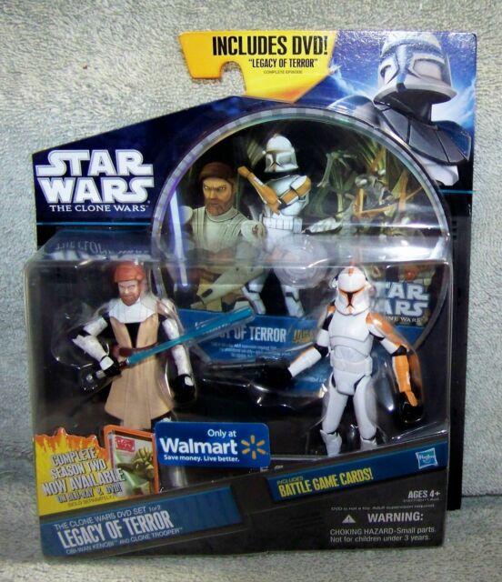 Star Wars The Clone Wars: Legacy of Terror DVD