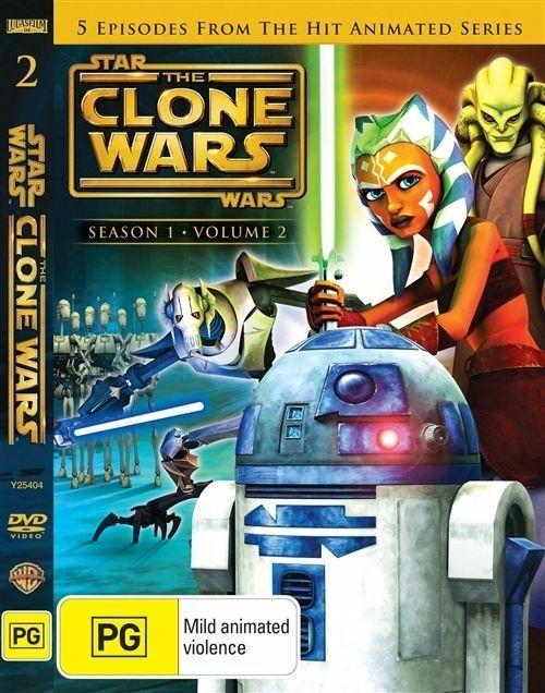 Star Wars: The Clone Wars Season 1 Volume 2
