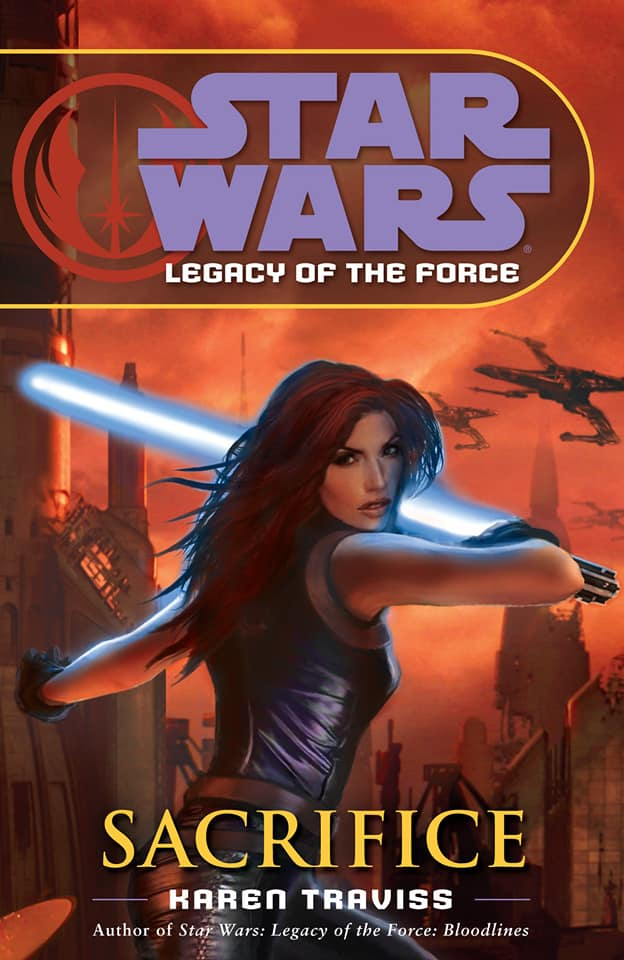 Star Wars Legacy of the Force: Sacrifice (paperback)