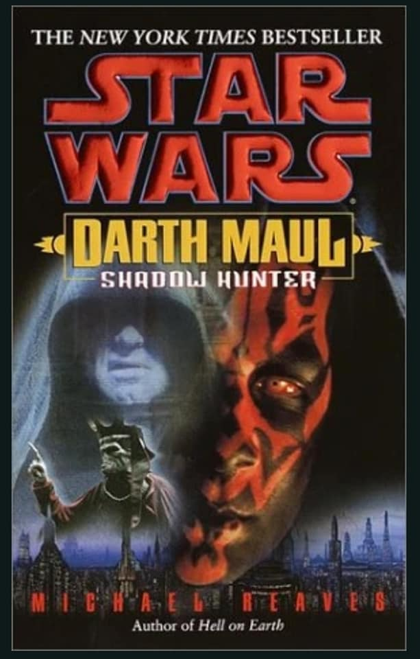 Star Wars Darth Maul: Shadow Hunter (paperback)