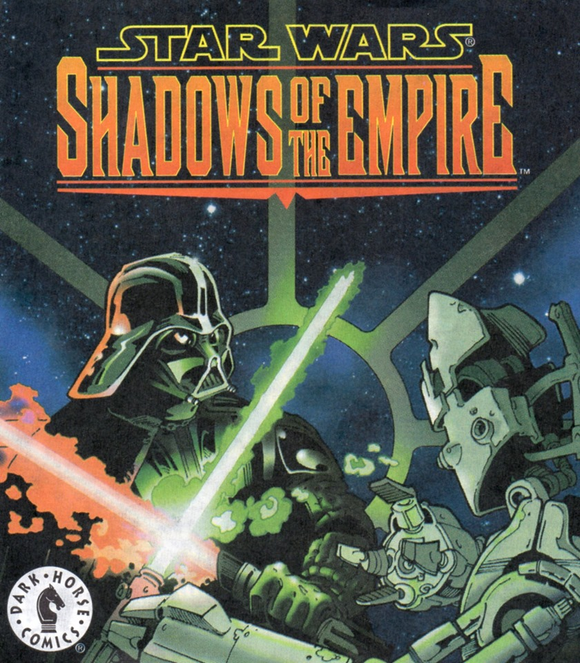 Star Wars Shadows of the Empire Galoob minicomic