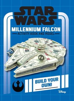 Star Wars Activity Book and Model: Millennium Falcon (U.S.)