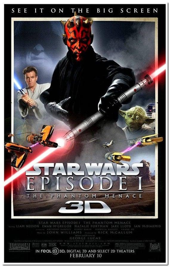 Star Wars: Episode I The Phantom Menace 3D