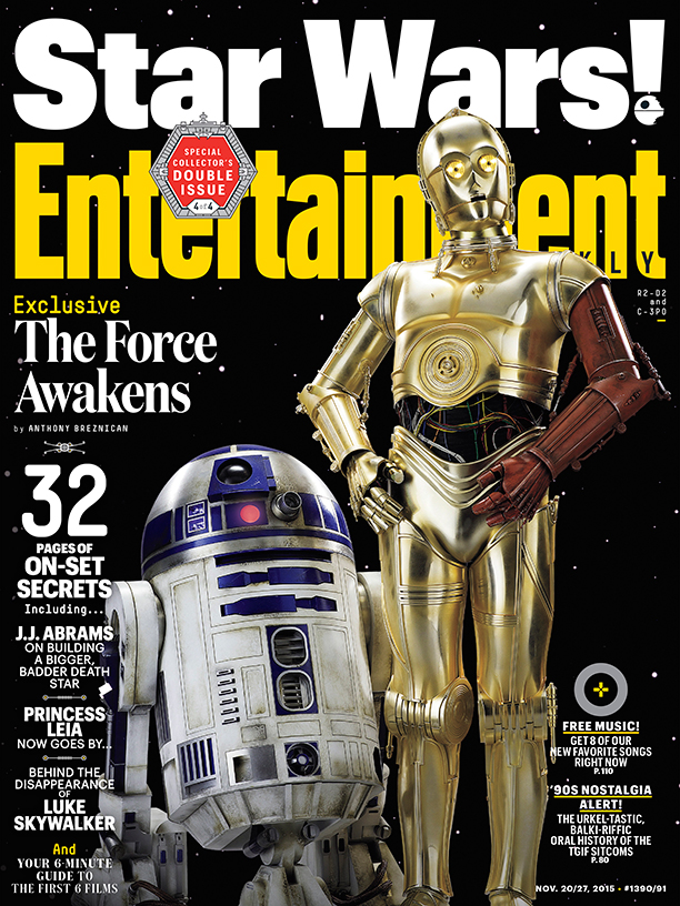 Entertainment Weekly November 27, 2015 (R2-D2 & C-3PO Cover)