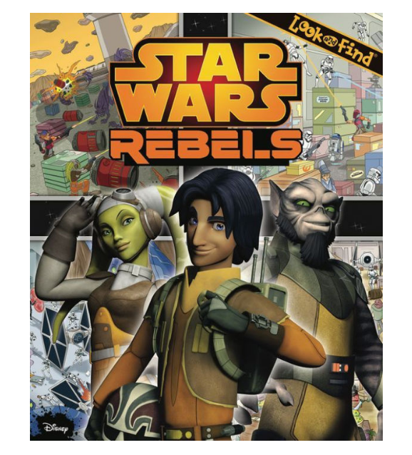 Star Wars Rebels Look & Find