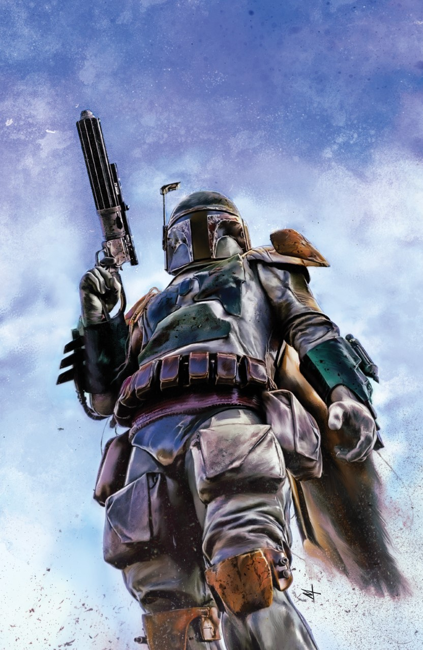 Star Wars: War of the Bounty Hunters Alpha - Legacy Comics Virgin Variant