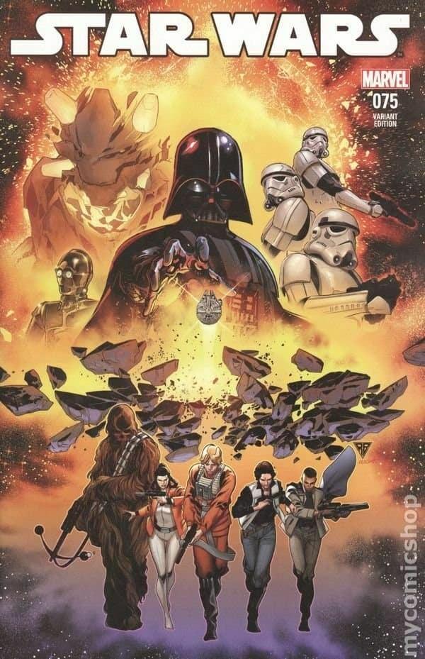 Star Wars 75 (Marvel 2015) R. B. Silva Variant