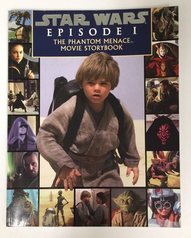Star Wars Episode I: The Phantom Menace Movie Storybook