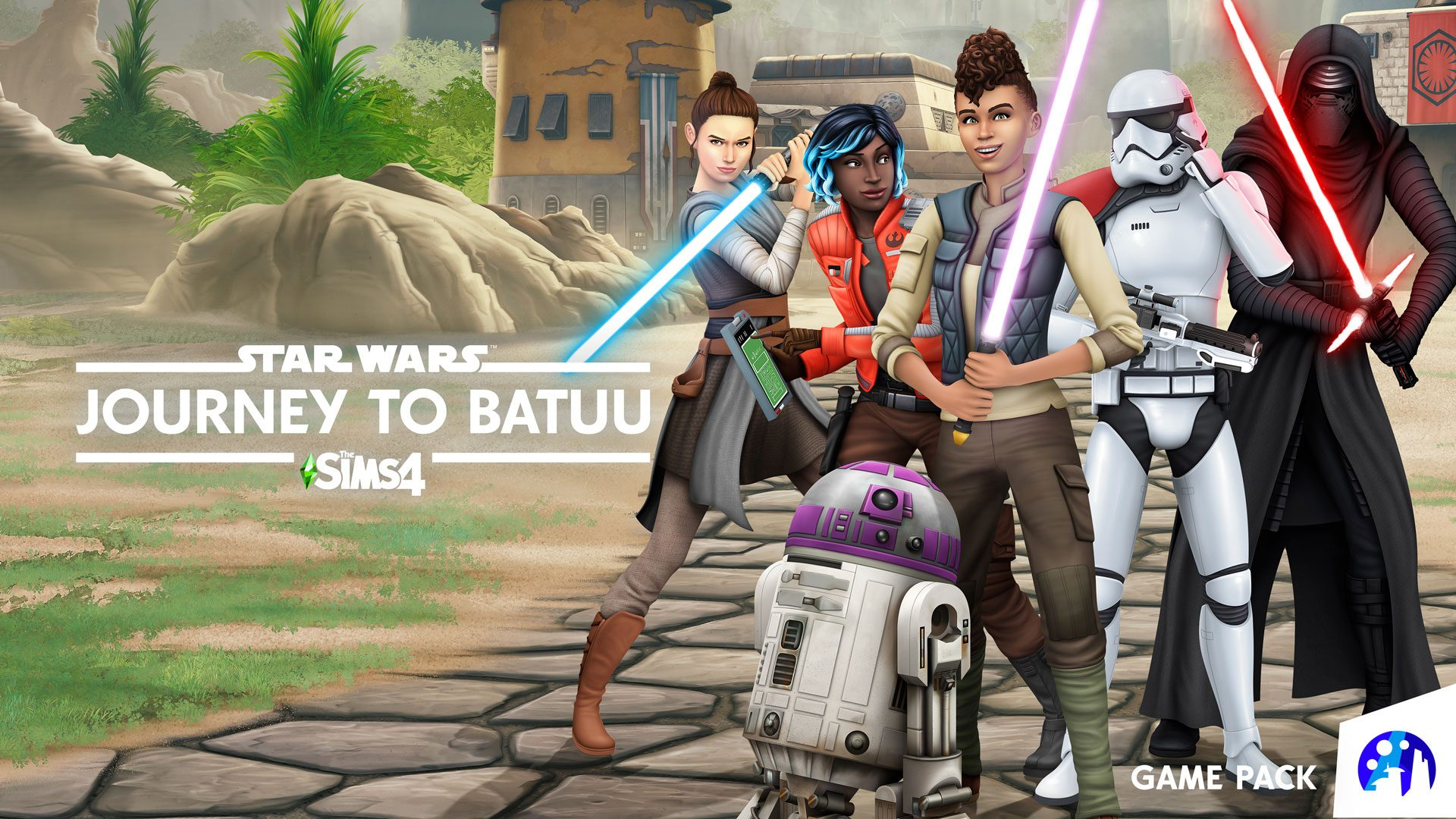 The Sims 4: Star Wars Journey to Batuu Plastation