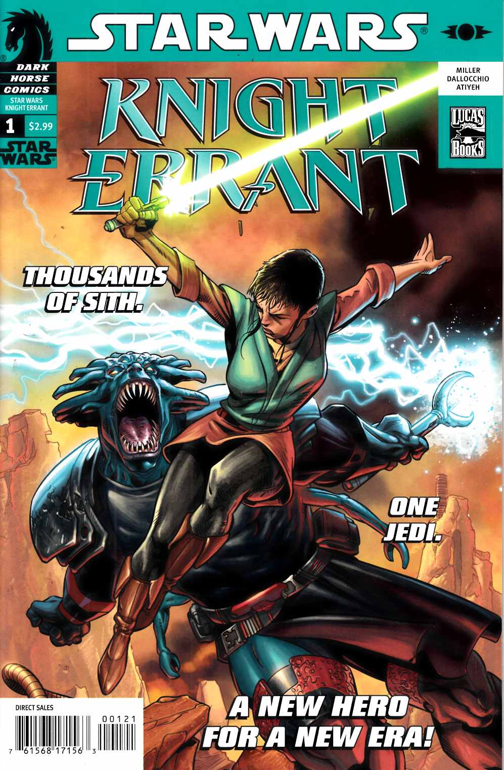Star Wars: Knight Errant 1 (Variant Cover)