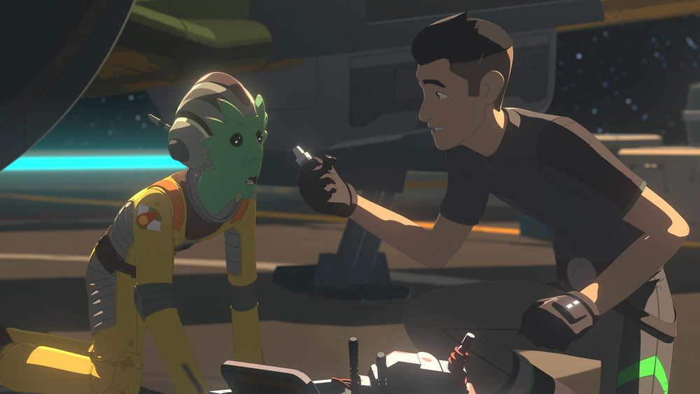 Star Wars Resistance: The Escape