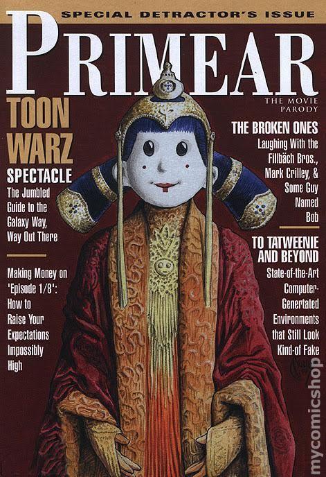 Toon Wars Episode 1/8: The Fandom Menace (Primear Cover)
