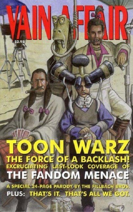 Toon Wars Episode 1/8: The Fandom Menace (Vain Affair Cover)