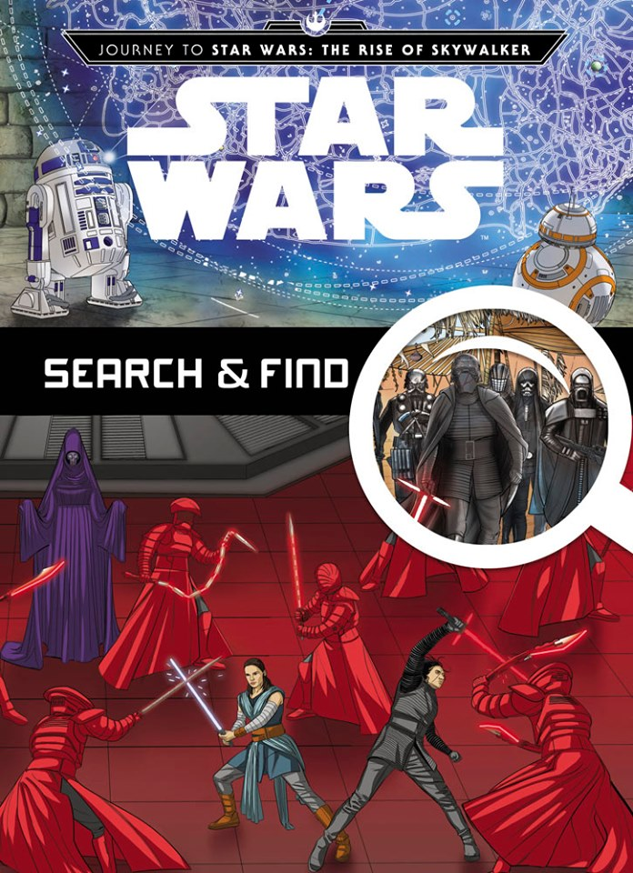 Star Wars The Rise of Skywalker Search and Find