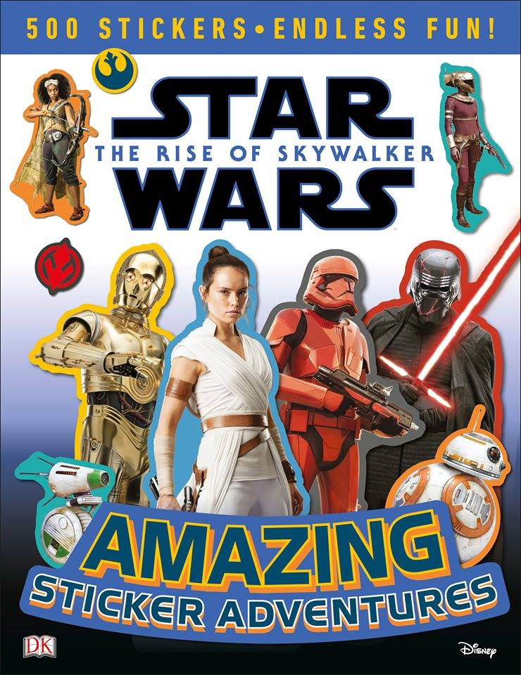 Star Wars The Rise of Skywalker: Amazing Sticker Adventures