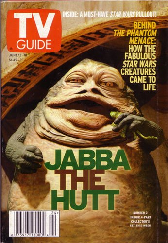 TV Guide June 12-18 1999 (Jabba the Hutt)
