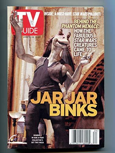 TV Guide June 12-18 1999 (Jar Jar Binks)