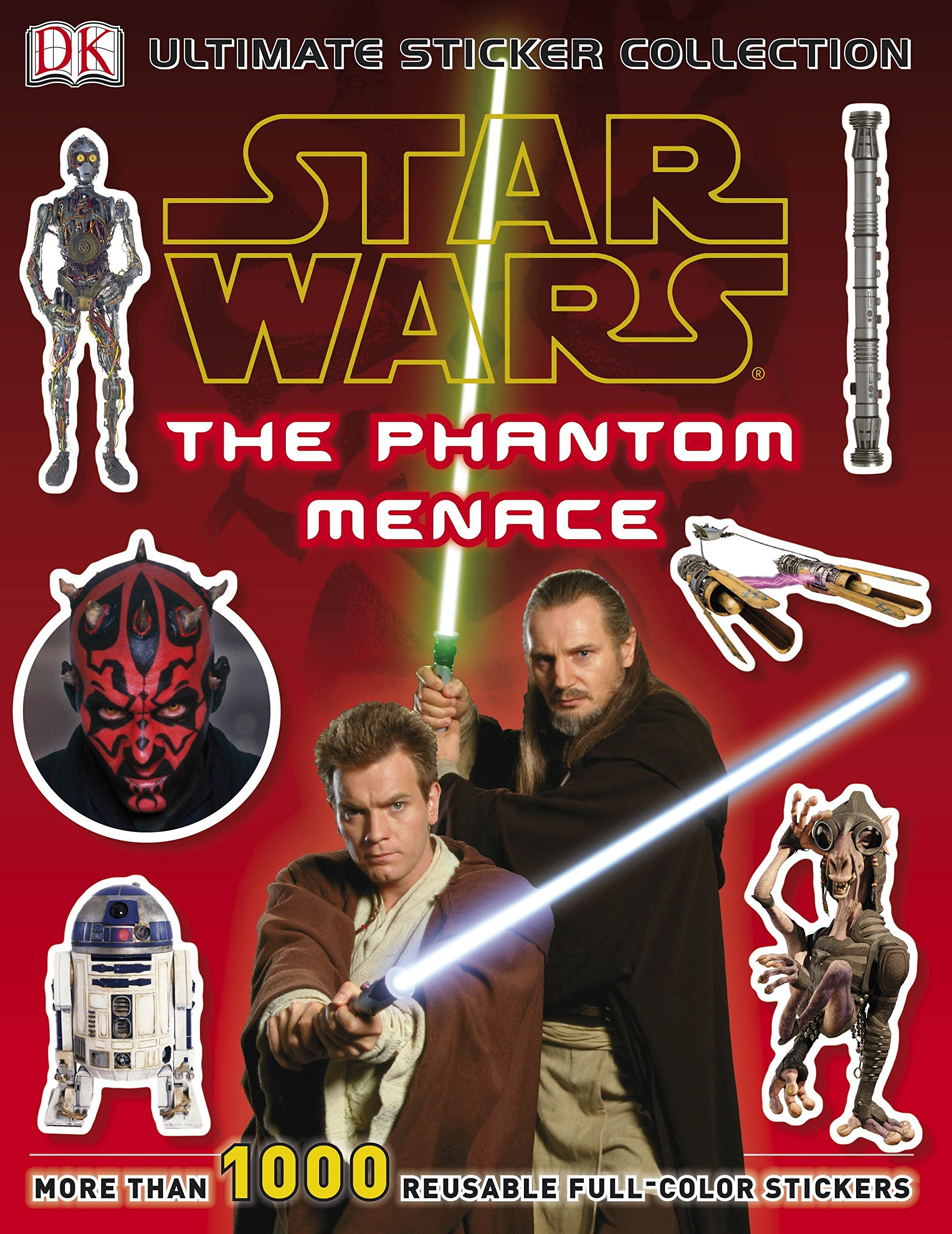 Star Wars The Phantom Menace Ultimate Sticker Collection