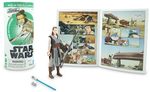 Star Wars Galaxy of Adventures: Rey