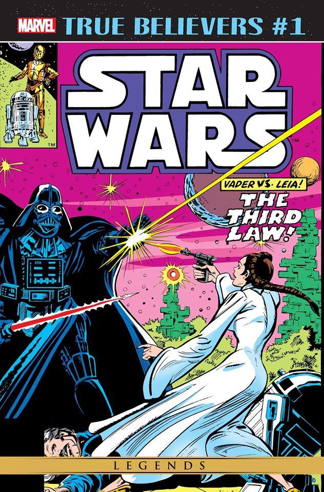 Star Wars Vader vs. Leia (True Believers)