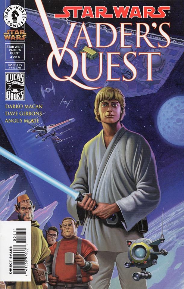 Star Wars Vader's Quest 4