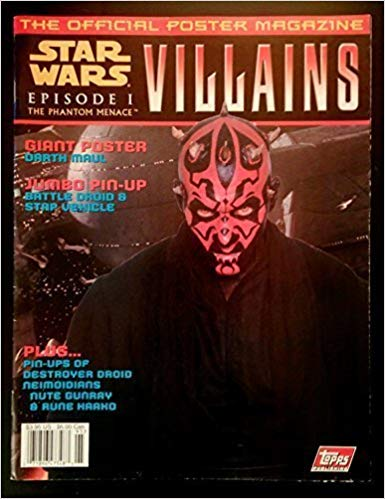 Star Wars Villains (Official Poster Magazine 1999)